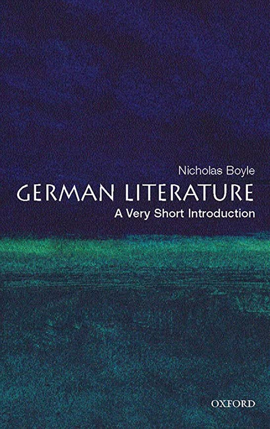 なすあえて気付くGerman Literature: A Very Short Introduction (Very Short Introductions) (English Edition)