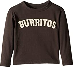 Super Soft Burritos Print Long Sleeve Tee (Toddler/Little Kids)