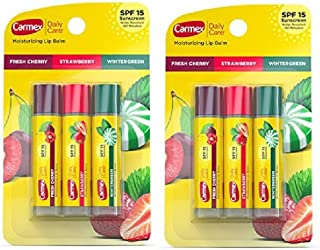 Carmex Daily Care SPF15 Variety Pack (Pack of 2)