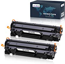 Aoioi Compatible Reemplazo para HP 79A CF279A Cartuchos de tóner Compatible para HP LaserJet Pro MFP M26nw, M26a, HP LaserJet Pro M12w, M12a - 2 Negro