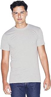 American Apparel 50/50 Crewneck Short Sleeve T-Shirt, 2-Pack
