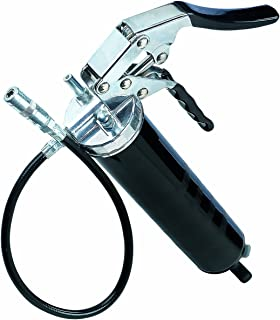 "Lumax LX-1152 Black Heavy Duty Deluxe Pistol Grease Gun with 18"" Flex Hose"