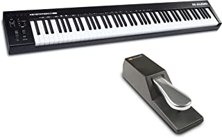 M-Audio Keystation 88 MK3 + SP-2 – 88 Key Semi Weighted MI