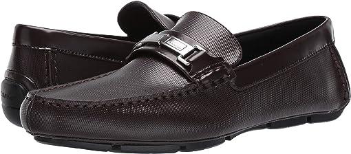 Mahogany Emboss Leather/Box Leather