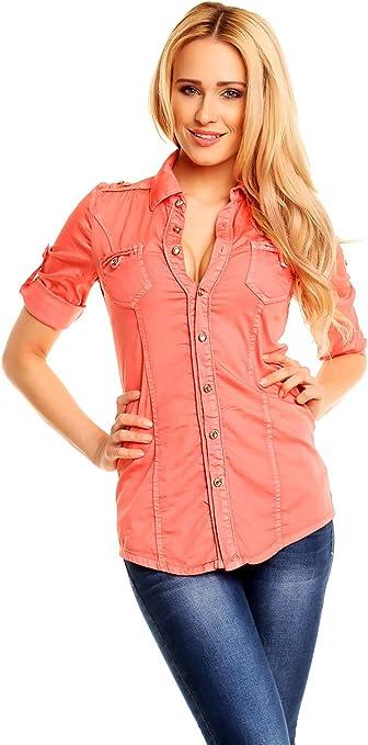 Onado - Camisas - Básico - cuello en V - para mujer