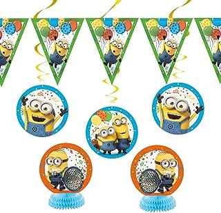 Despicable Me Minions Party Decoration Kit, 7pc