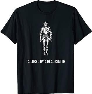 Metal Armor T-Shirt for Blacksmiths