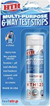 HTH Multi-Purpose 6-Way Test Strips for Swimming Pools