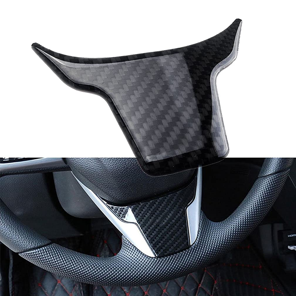 Real Carbon Fiber Steering Wheel Cover Panel Frame Trim for Honda Civic 2016 and up