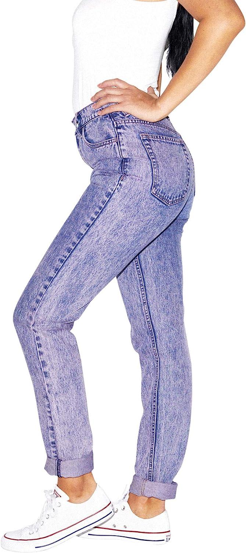 80s Jeans, Pants, Leggings | 90s Jeans American Apparel Womens High-Waist Jean  AT vintagedancer.com