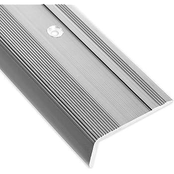 Alu Kantenschutz  Winkel Riffelblech Aluminium Eckschutz 2000mm 2,5//4,0 mm INNEN