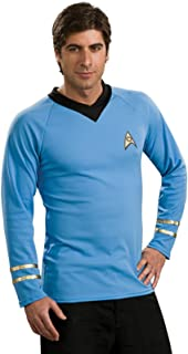 Deluxe Classic Shirt Adult Costume Blue - Large