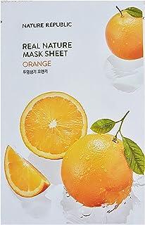 Nature Republic Real Nature Mask Sheet ORANGE 10pc SET Daily Mask Korea