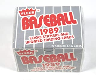 1989 Fleer Update MLB Baseball Factory Sealed 132 Card Set Lots of Rookie Cards