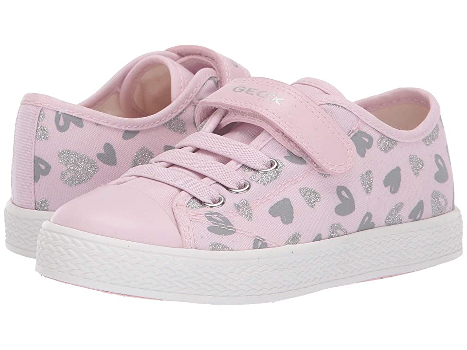 Geox Kids Ciak Girl 64 (Little Kid) (Pink) Girl