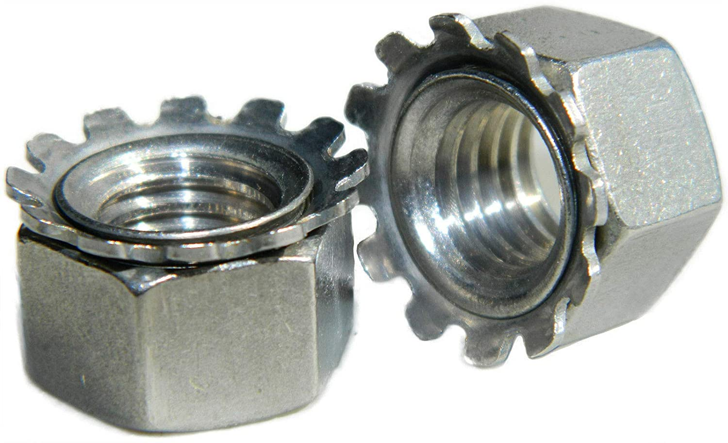 Stainless Steel Keps K-L Lock Nut with Washer Free 2- Indefinitely 1 Spinning Cheap mail order specialty store