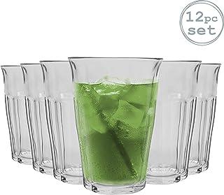 Apilables Pack de 12 Duralex Empilable Juego de Vasos Altos para c/ócteles 340/ml