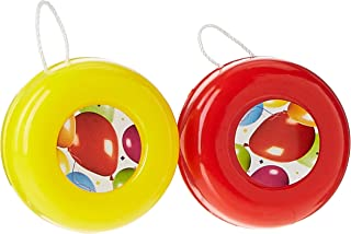 PROCOS Balloon Fiesta Pack of 6 Yo-Yos 5 Years and Above