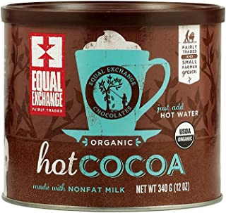 Equal Exchange Hot Cocoa Mix, Cans Chocolate, 12 Oz (ogh-equalch)