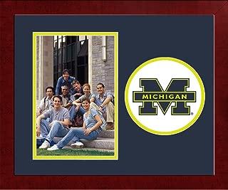 Campus Images NCAA Michigan Wolverines University Spirit Photo Frame Vertical