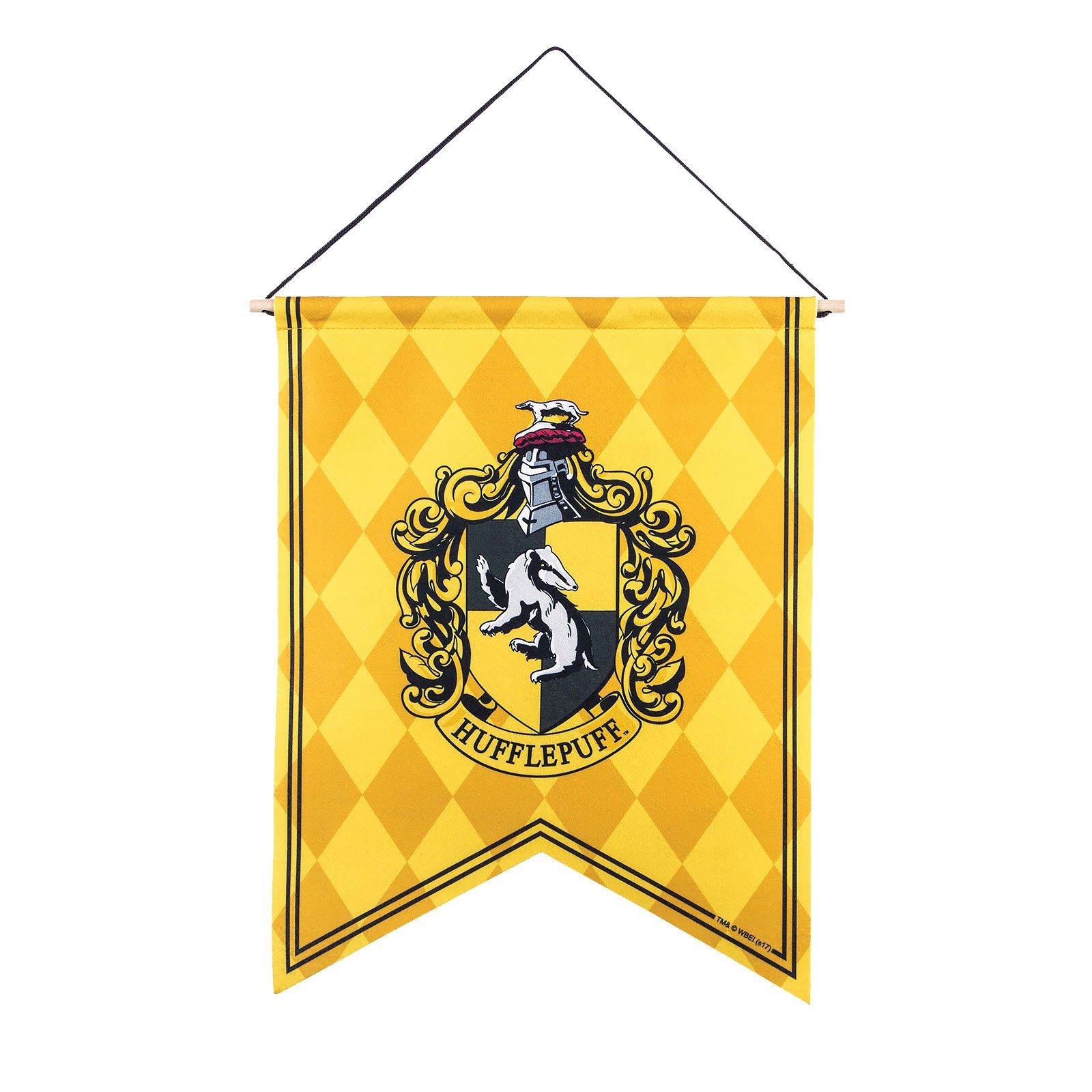 Bandera Estandarte Harry Potter HUFFLEPUFF 50x40cm.: Amazon.es: Juguetes y juegos