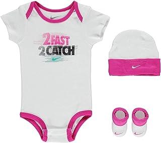 43e8ed5d5cbc7 Nike Age Newborn 0-6 Months 3 Piece Infant Baby Boys Girls Set Hat Sports