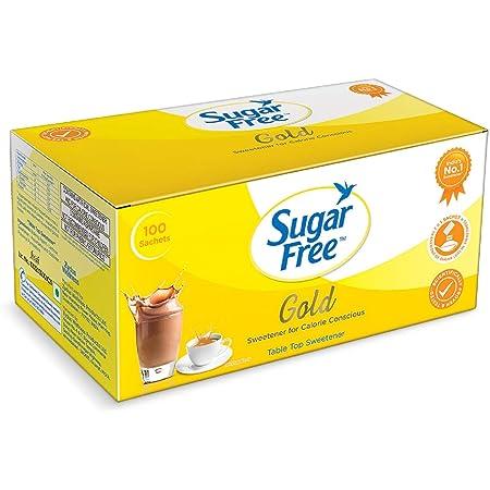 Sugarfree Gold Low Calorie Sweetner - 100 Sachet
