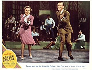 Posterazzi Easter Parade Judy Garland Fred Astaire 1948 Movie Masterprint Poster Print (14 x 11)