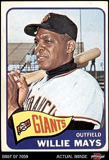 1965 Topps # 250 Willie Mays San Francisco Giants (Baseball Card) Dean's Cards 3 - VG Giants