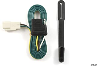 CURT 56042 Vehicle-Side Custom 4-Pin Trailer Wiring Harness for Select Toyota Highlander