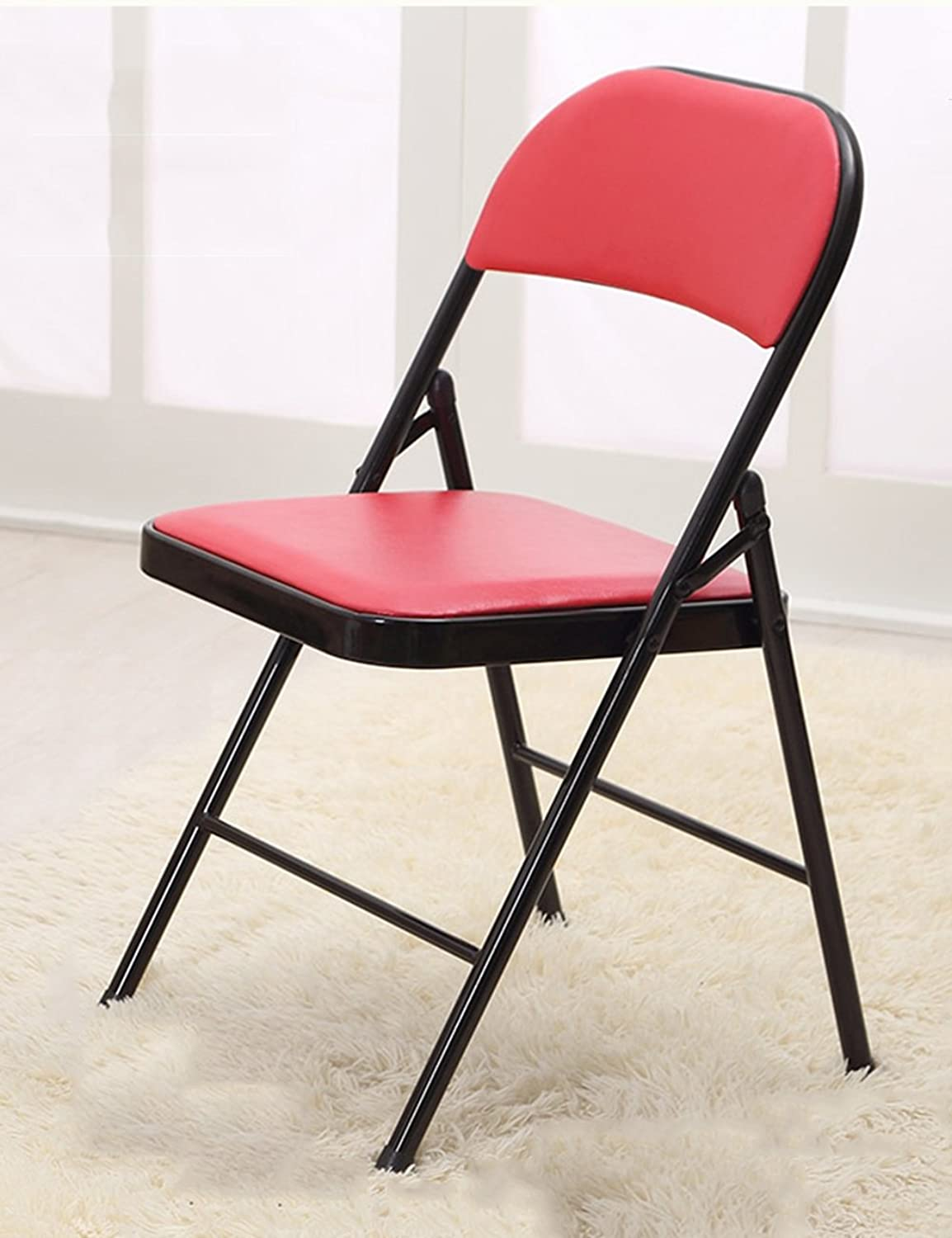 LHA Barstools Office Chairs Folding Chairs Computer Chairs Simple Conference Chair Fashion Training Chair Bar Furniture (color   D)