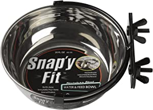 MidWest Homes Pets Snap'y Fit Stainless Steel Food Bowl