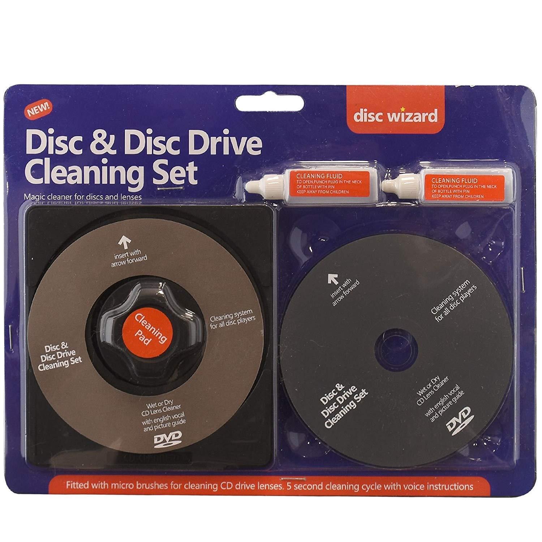 Kit limpiador de lentes láser 2 en 1 para reproductores de CD, DVD y Blu Ray y consolas PS3, Xbox One y Xbox 360: Amazon.es: Electrónica