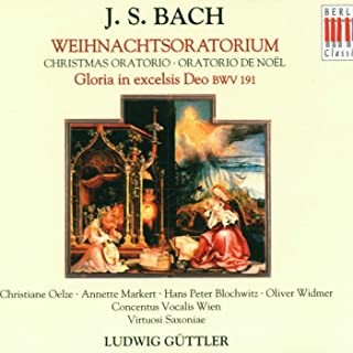 """Gloria in excelsis Deo, BWV 191: I. """"Gloria in excelsis Deo"""""""