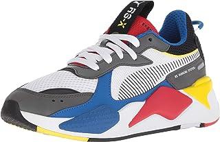 PUMA RS-X Toys Big Kids' Sneakers Black/Blue Atoll 369628-01