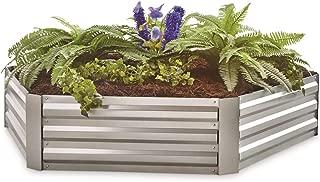 CASTLECREEK Hexagon Galvanized Steel Planter Box