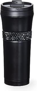 starbucks Stainless Steel Tumbler adorned with Swarovski crystals - Black 16 fl oz