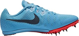 Nike Women's Zoom Rival MD 8 Track and Field Shoes (Blue/Red, 12.0 B(M) US)