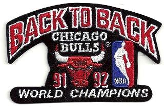 NBA Chicago Bulls Logo Patch - 1992 Champions