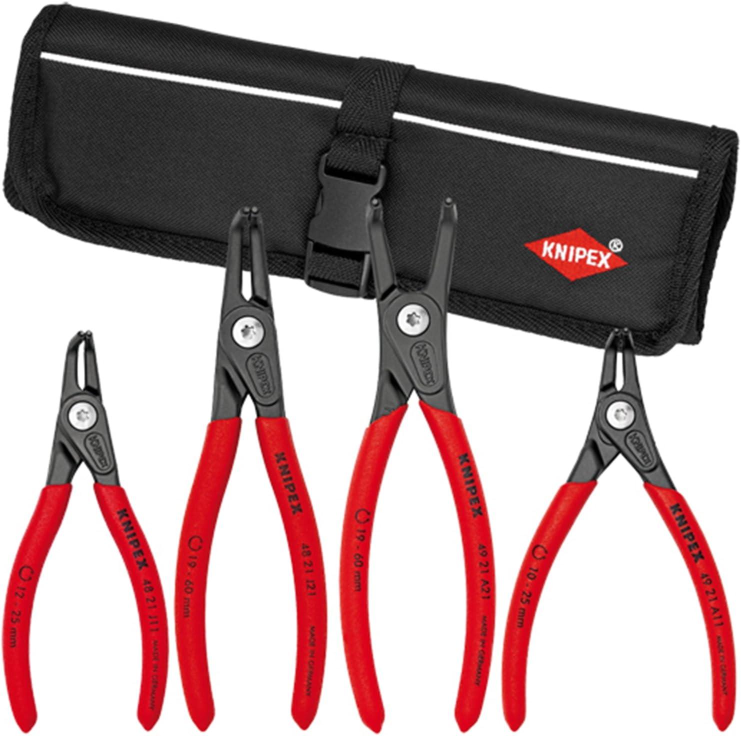 KNIPEX Tools - 4 Piece Pliers Precision Great interest Circlip Set 9K008020US Milwaukee Mall