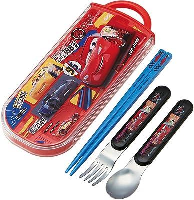 スケーター 弁当用箸 子供用 トリオセット 箸 スプーン フォーク カーズ 20 ディズニー TACC2