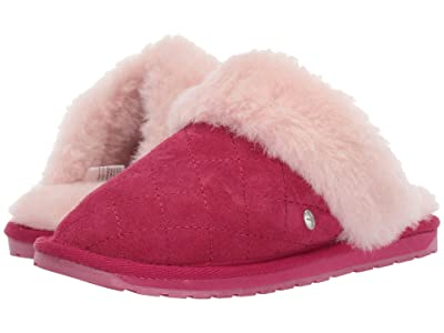 EMU Australia Kids Jolie Quilt (Toddler/Little Kid/Big Kid) (Berry) Girls Shoes
