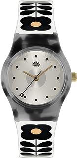 Orla Kiely Damski analogowy analogowy zegarek kwarcowy z plastikowym paskiem OK2324
