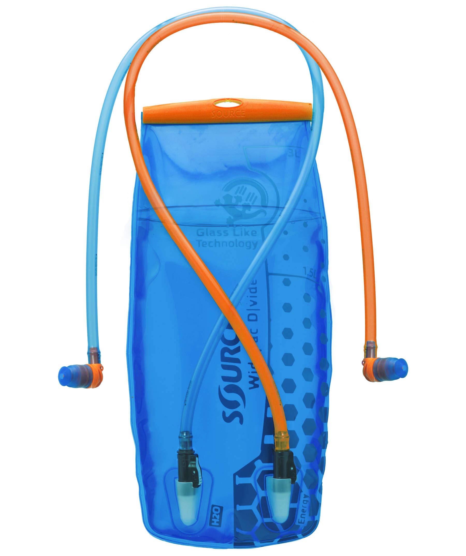 Source Widepac D|Vide Trinkblase, blau, 3 Liter