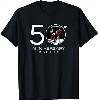 Apollo 11 50th Anniversary Tshirt - Moon Landing Tee