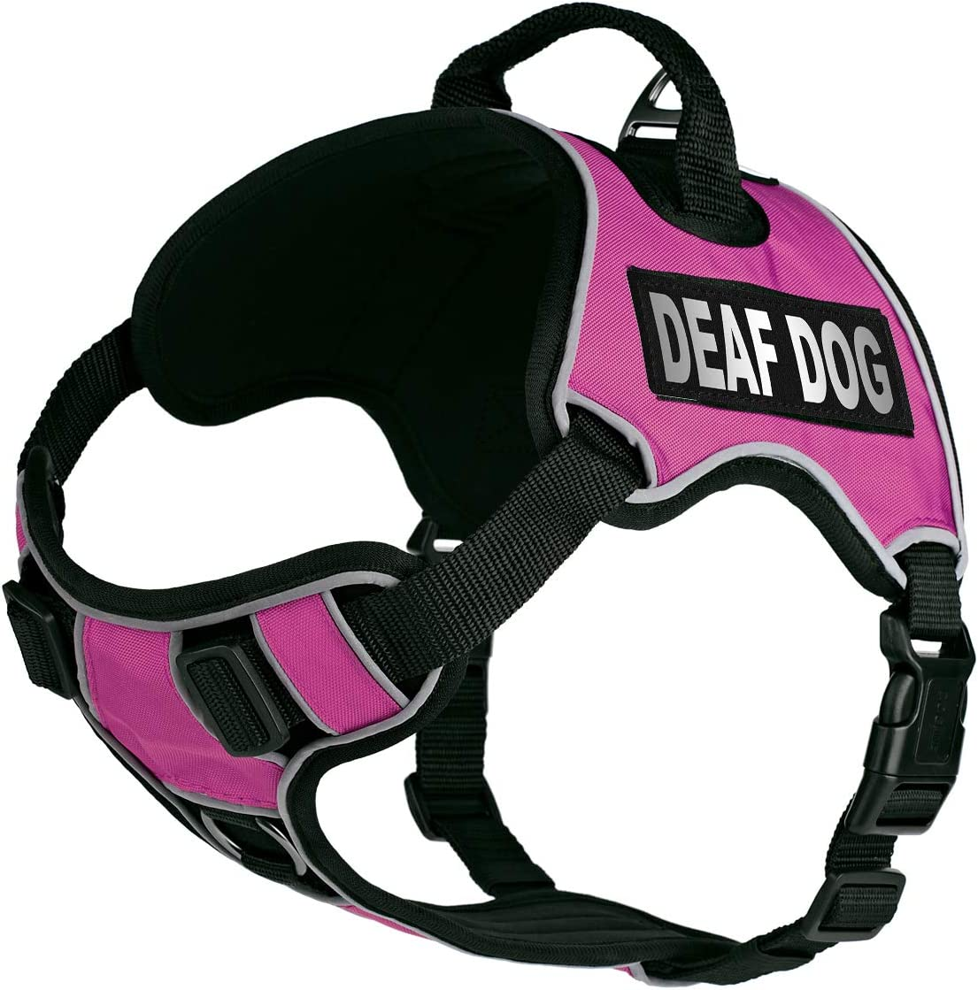 excellence Dogline Quest No-Pull Dog Harness Remov Deaf with Max 86% OFF Reflective