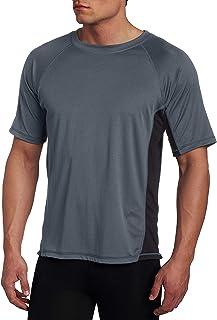 Kanu Surf Men's Cb Rashguard UPF 50+ Swim Shirts (Regular & Extended Sizes)