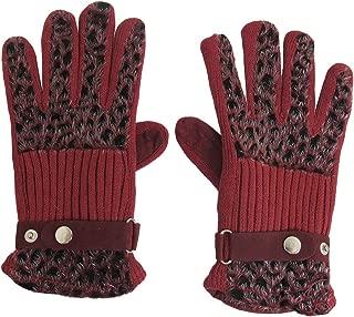 uxcell Gray Faux Fur Hand Wrist Warmer Fingerless Gloves for Lady Women