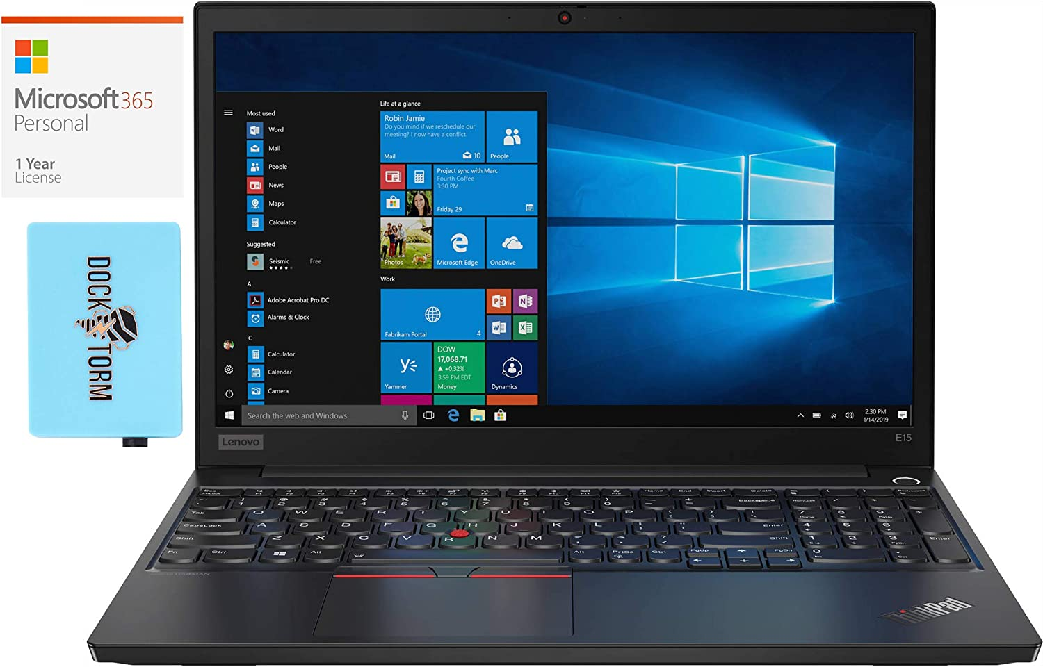 Detroit Mall Lenovo ThinkPad low-pricing E15 Home and 2- Intel Laptop Business i3-10110U