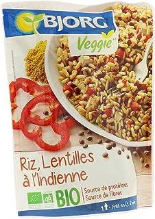 Bjorg Doypack Riz et Lentilles à l'Indienne Bio 220 g